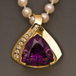 Amethyst Diamonds 2608PES E