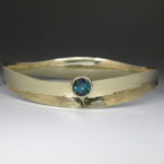 Bracelet Concave Cuff with Tourm 1857BS