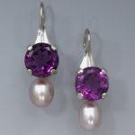 Earrings Ame Bronz Pearl 1734ES