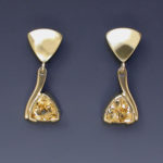 Golden Topaz Dangles 1818ES sm