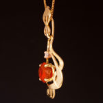 Mexican Fire Opal Diam 2w 080060