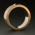 Sapphire Mokume ring 3w 050065