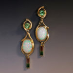 Ethiopian opal Tourmaline 1s 090160