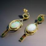 Ethiopian opal Tourmaline 3s 090160