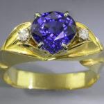 Sapphire ring 2s